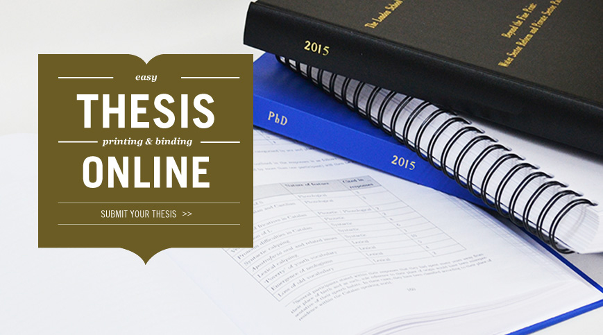 thesis binding online london Blisetts thesis binding thesis binders in the uk we can match all university & college specifications our website wwwthesisonlinecouk was the first online.