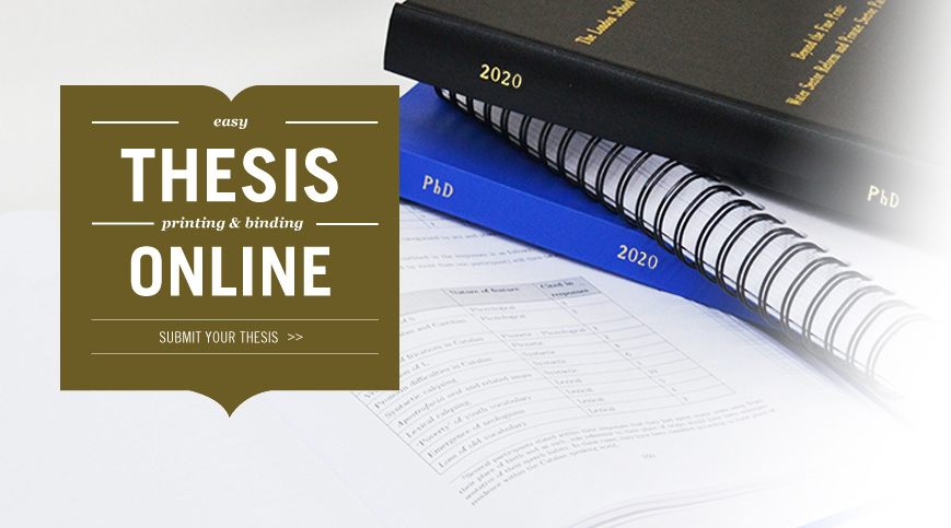 Dissertation And Thesis Online